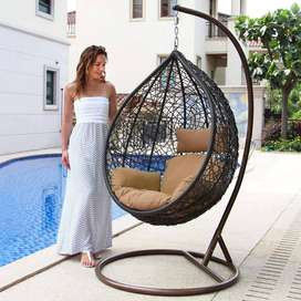 Swing chairs for balcony, terrace and garden