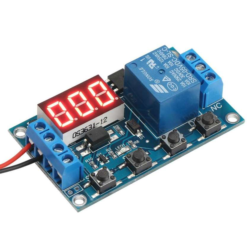 12V Multifunction 1 Channel Relay On-Off Timer Delay SwitchMachine 0