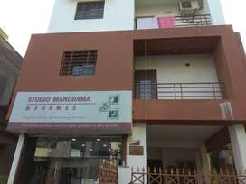 2bhk flat near Newtown bus stand. 2 to 3 member Family preferable.