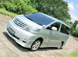 Toyota Alphard 2.4 ASG Sound Premium 2007. Automatic. Plat AB pjk pjg