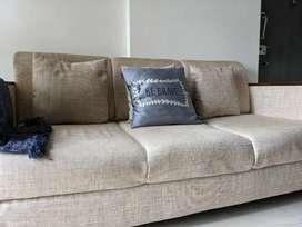 6 months old 3 seater sofa for sale