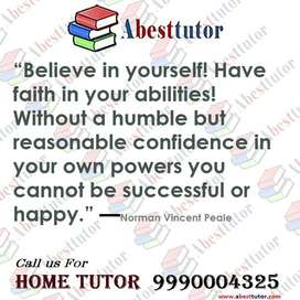 Required HOME TUTOR in NOIDA