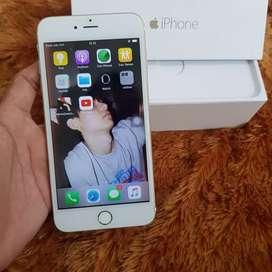 Iphone 6 Plus 16Gb Gold. FULLSET SUPER MULUS LIKE NEW