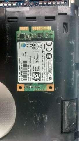 Msata Samsung 256 GB SSD