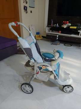 Baby Stroller with multi facility| Bought in Netherlands