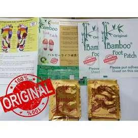 Koyo kaki bamboo foot pad herbal detox kios madu kurma gamat kutuk vco