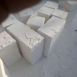 Batukumbong kombo umpak matrial bangunan murah batu belah bataringan