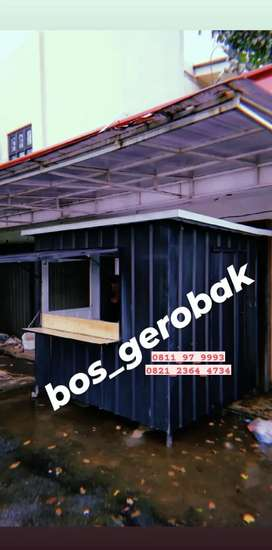 Booth portabel (container custom)