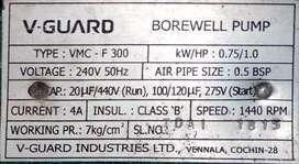 New Compressure motor 1hp