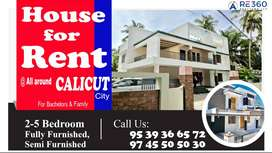 3 Bhk Individual Home for rent.