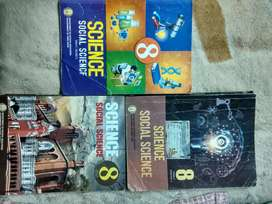 8th science and social science matric term 1,2&3 books