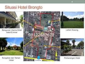 Dijual Hotel strategis tengah kota Jogja dengan tanah luas 1.7 ha.