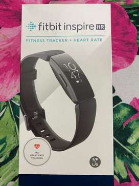 Fitbit inspire HR New in box