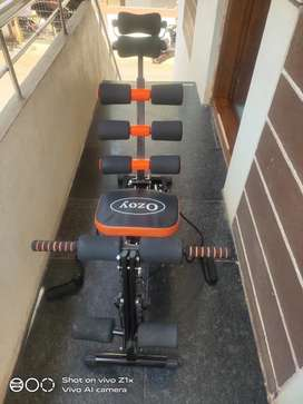 Keesos six pack 6 in 1 gym abdominal exerciser machine