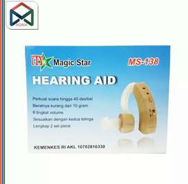 ALAT BANTU DENGAR/ HEARING AID MAGIC STAR CATROL MS 138