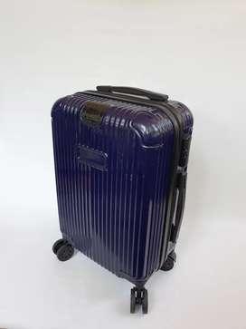 Tas koper ungu berbahan fiber