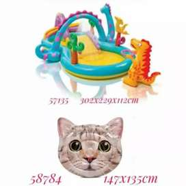 Kolam Intex Dino Fantasy Free Matras Kucing