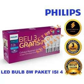 Lampu led Philips 8 watt