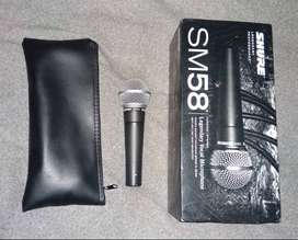 Shure SM58 Like New