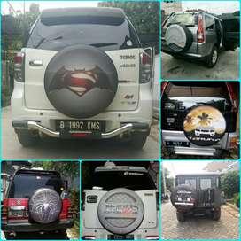 Sarung cover ban Rush Terios Escudo Vitara Taruna CR-V Terrano Touring
