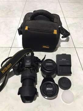 Dijual kamera nikon d3400