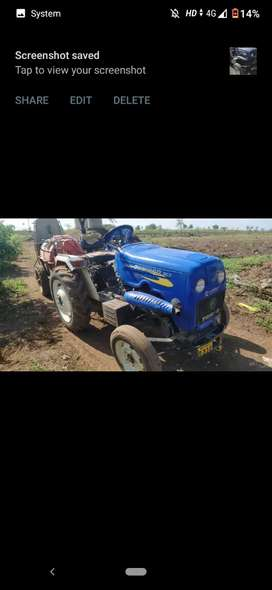 Ox 25 hp only tractor  good condition