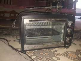 I am selling my oven