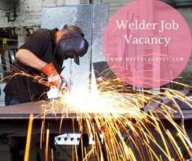 Opening for welder job