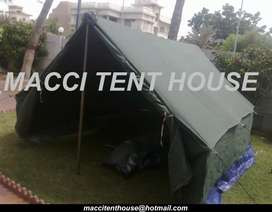Relief Tent, Refugee Tents Manufactures by Macci Tent House