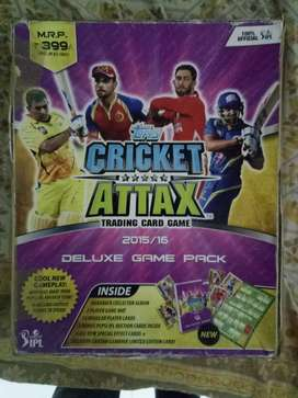 Cricket Attax cards