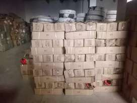 Carbon Dioxide CO2 Fire extinguisher fresh stock