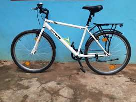 BTWIN MYBIKE FULLY LOADED WITH ORIGINAL BTWIN ACESSORIES worth 12000rs