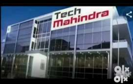 Urjent required for candidate in Mahindra company