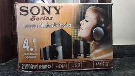Sony 4.1 multimedia speakers