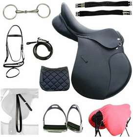 Customized Horse Riding Set 11 pcs In Pure Leather.