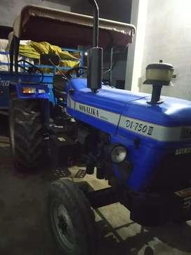 Sonalika tractor 750