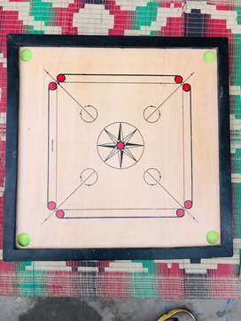 Carrom board with all accessories