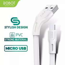 ROBOT Kabel Data Micro USB 1M RDM100S -Garansi Resmi 1Tahun