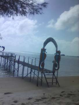 Dijual lahan pantai dan tepi jalan utama di Kawal, Bintan,surat SHM