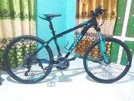 Jual sepeda merk Exotic, dipakai gak sampai 1 bulan