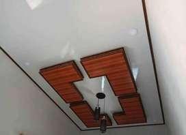 Plafond PVC dan gibsum