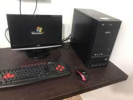 desktop pc full set
