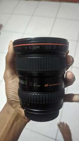 Canon EF 17-40 mm L Series