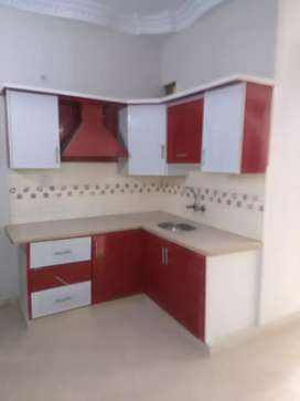 2 bed DD brand new portion for rent in VIP Blk Gulshan e iqbal