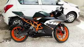 Ktm rc 200 with 110% condition