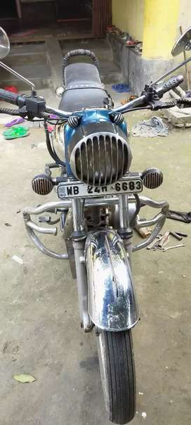 Royal enfield machismo crome