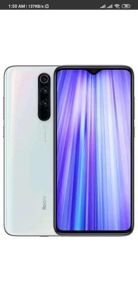 Note 8 pro white 128GB