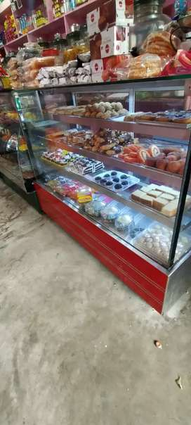 Bakery and coolbar selling from thevara