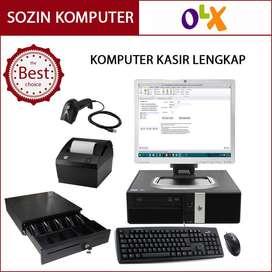 Kasir Branded HP Rp5800 Tangguh untuk Semua UKM