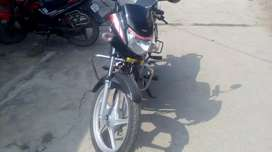New bike... jest drive 3months... hero hf deluxe